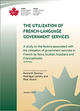 Utilization of French-language Government Services
