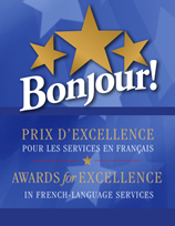 Bonjour! Awards for Excellence